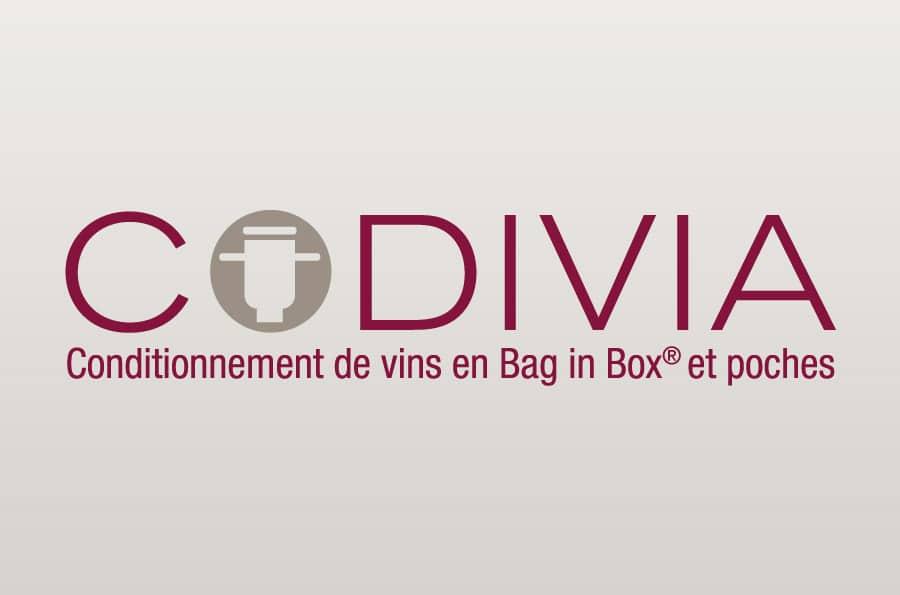 Codivia - identité et logo - DEFACTO agence de communication à Narbonne