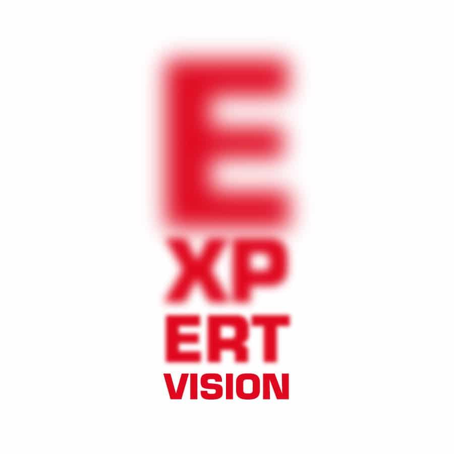 Expert Vision - identité et logo - DEFACTO agence de communication à Narbonne