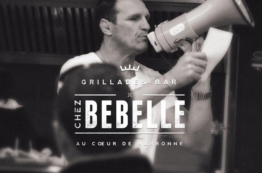 Chez Bebelle - site internet responsive design - DEFACTO agence de communication à Narbonne