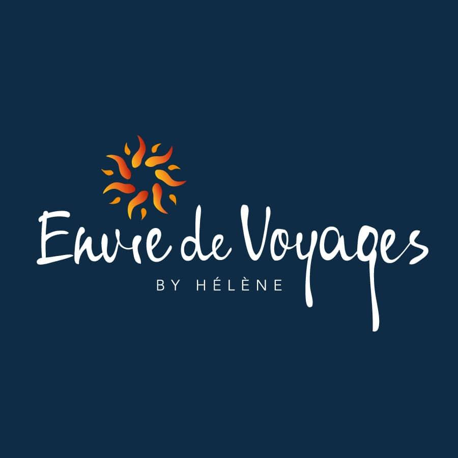 Envie de voyage - site et logo réalisé par Defacto