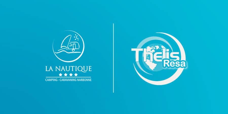 Defacto agence de communication Narbonne - Camping La Nautique - Site internet