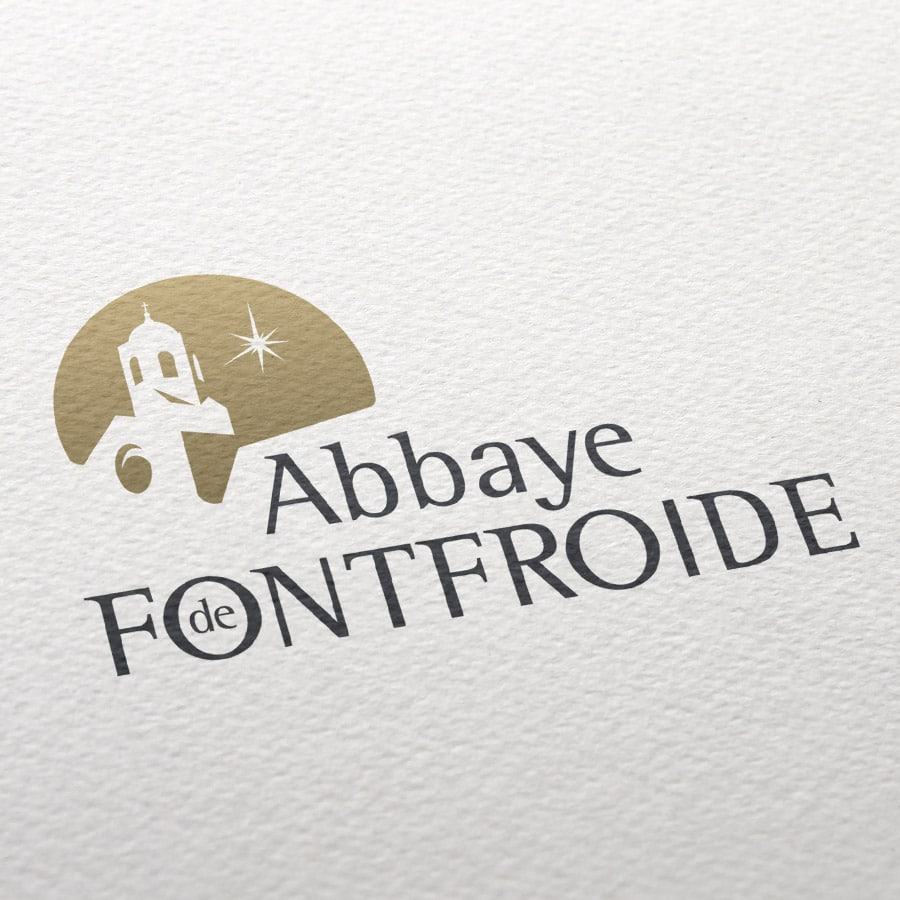 Defacto agence communication Narbonne - Abbaye Fontfroide - logo