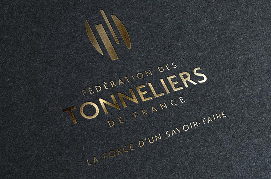 Defacto agence de communication Narbonne - Fédération des Tonneliers de France - identité