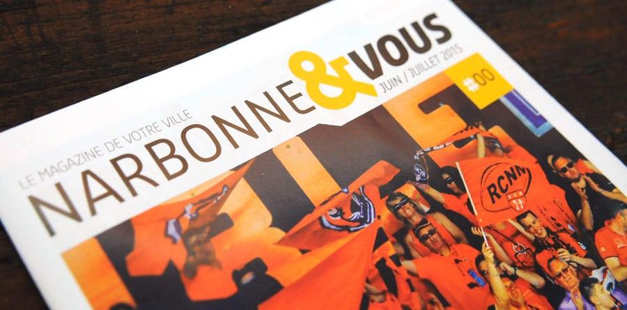 Defacto agence de communication Narbonne - Ville de Narbonne - magazine officiel
