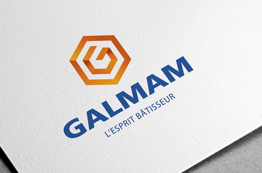 Logo Galmam réalise par Defacto à Narbonne