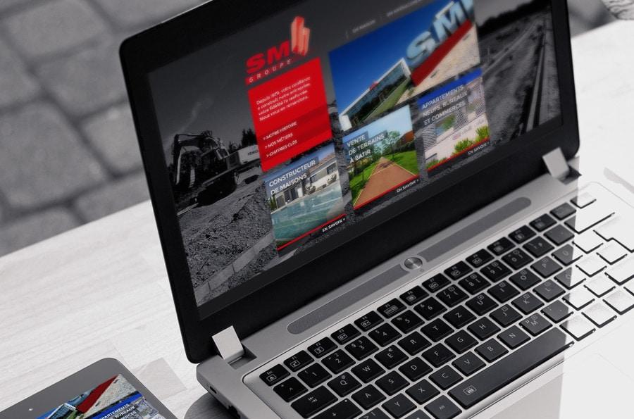 Groupe SM - Lancement du nouveau site internet - Defacto à Narbonne - Site du Groupe
