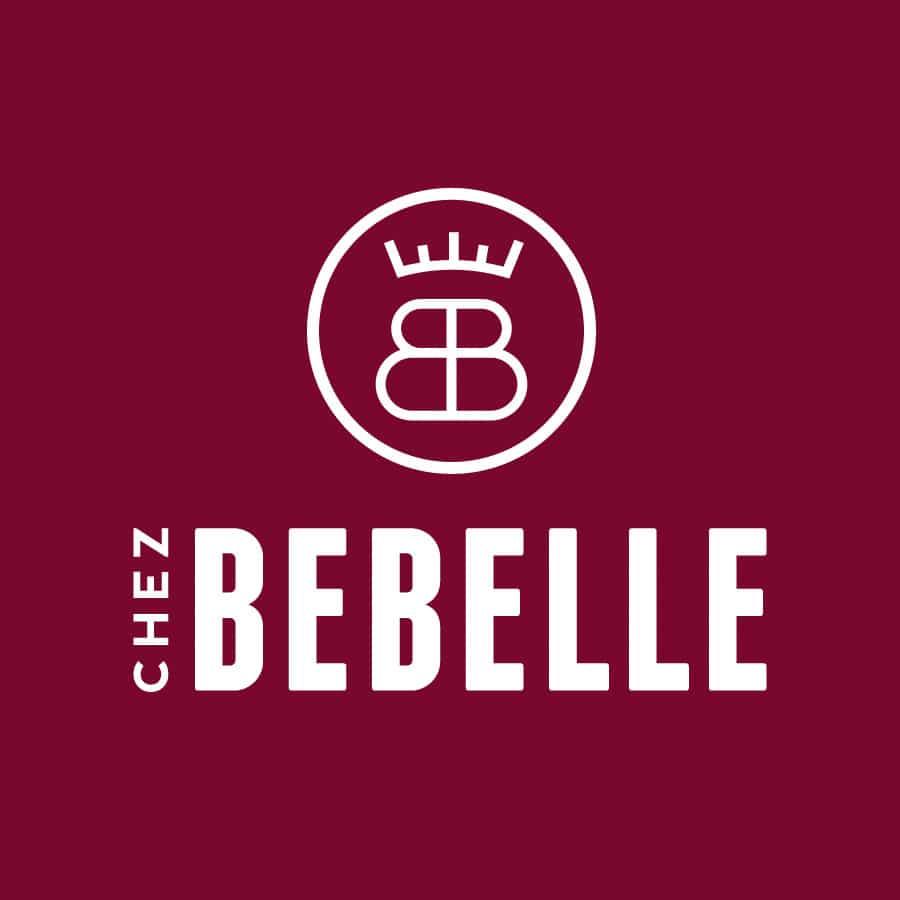 Chez Bebelle - identité et logo - DEFACTO agence de communication à Narbonne