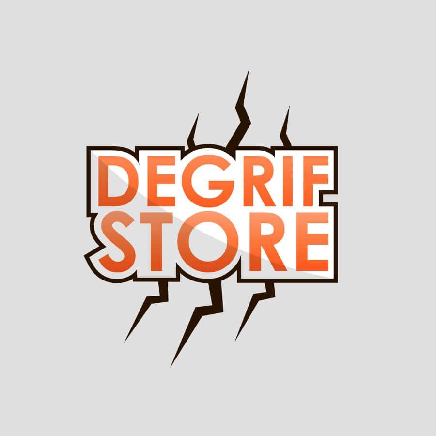 Degriff Store - identité et logo - DEFACTO agence de communication à Narbonne