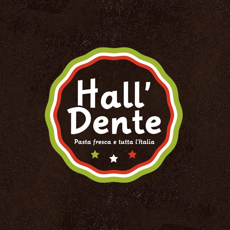 Hall Dente - logo et identité - DEFACTO agence de communication à Narbonne