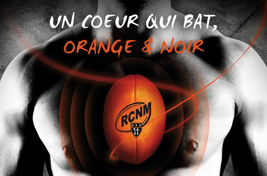 RCNM - identité et logo - DEFACTO agence de communication à Narbonne