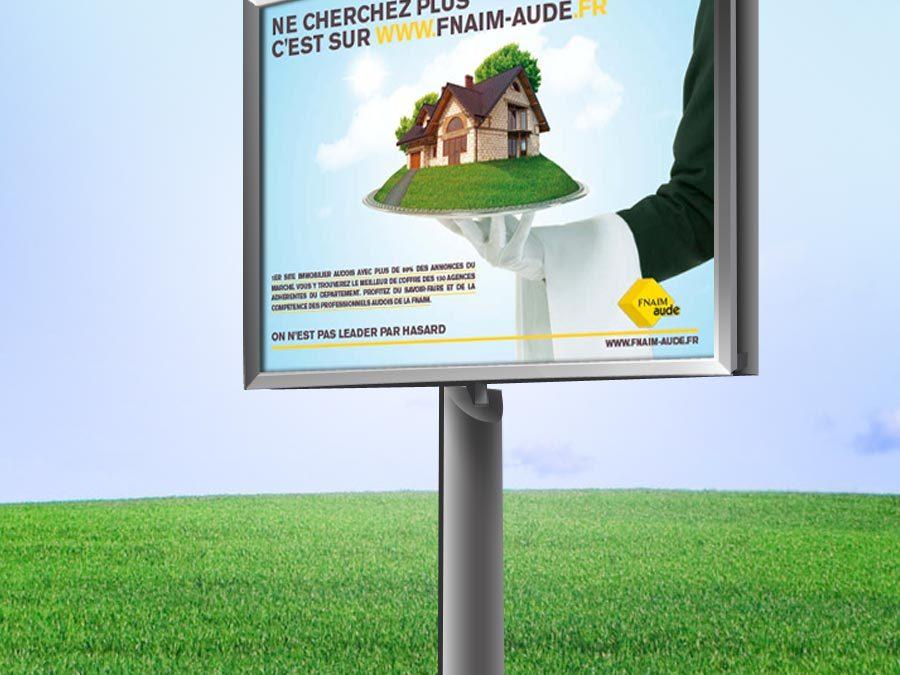 FNAIM – Campagne de Lancement Site Web