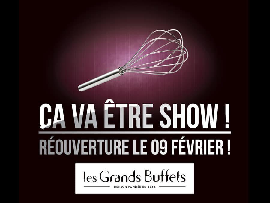 Les Grands Buffets – Campagne « Ça va être show »