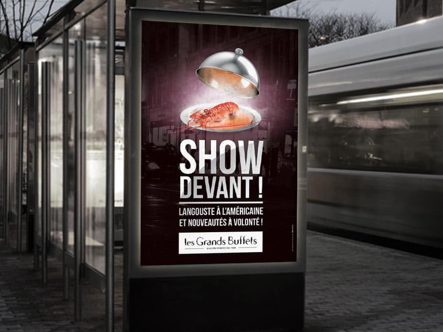Les Grands Buffets – Campagne « Show devant ! »
