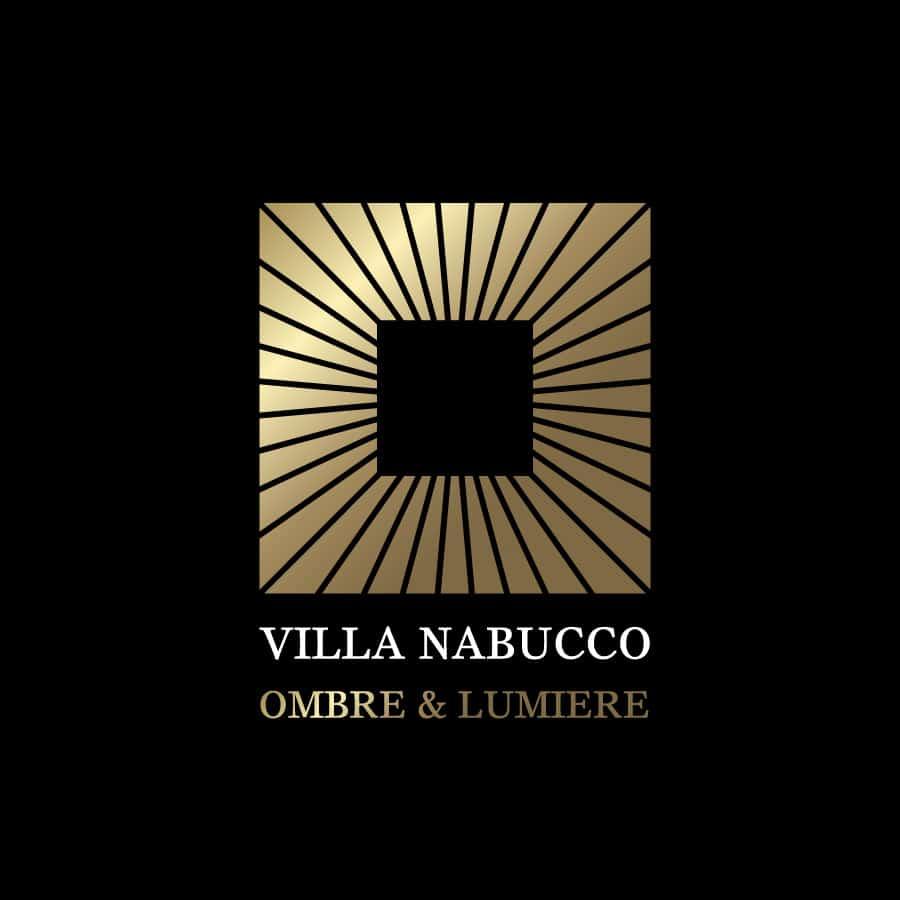 Villa Nabucco - logo et charte graphique - DEFACTO agence de communication à Narbonne