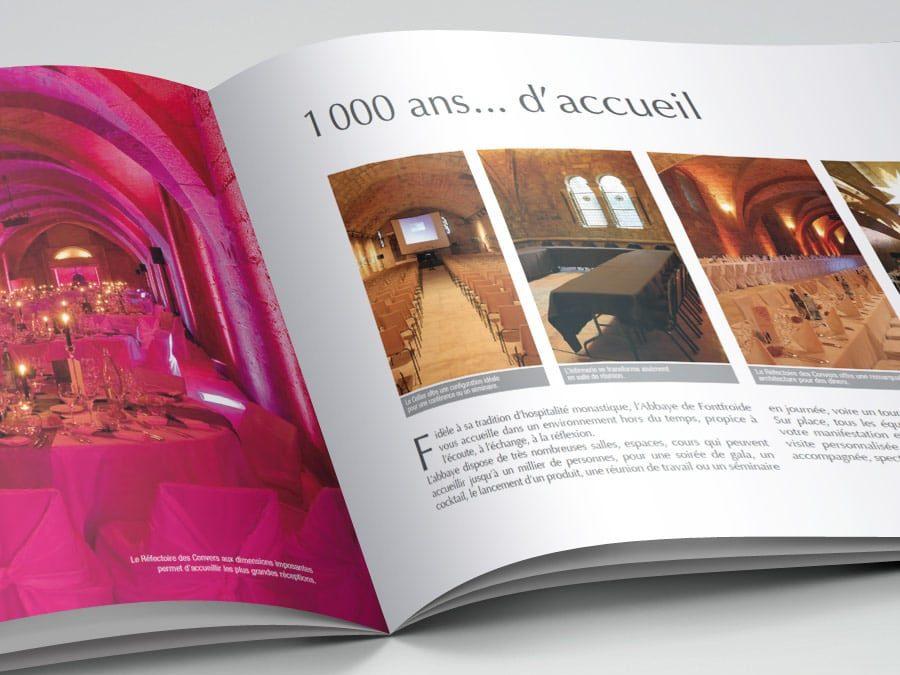 Abbaye de Fontfroide – Plaquette