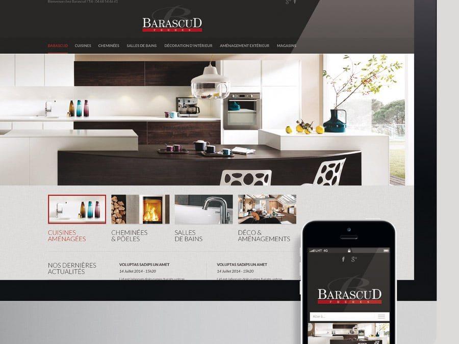 Barascud – Site Web