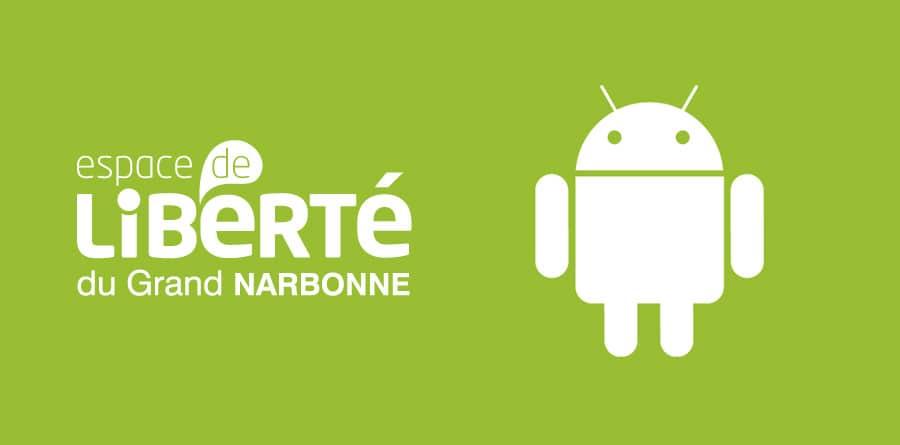 Espace de Liberté - Application mobile smartphone - DEFACTO agence de communication à Narbonne