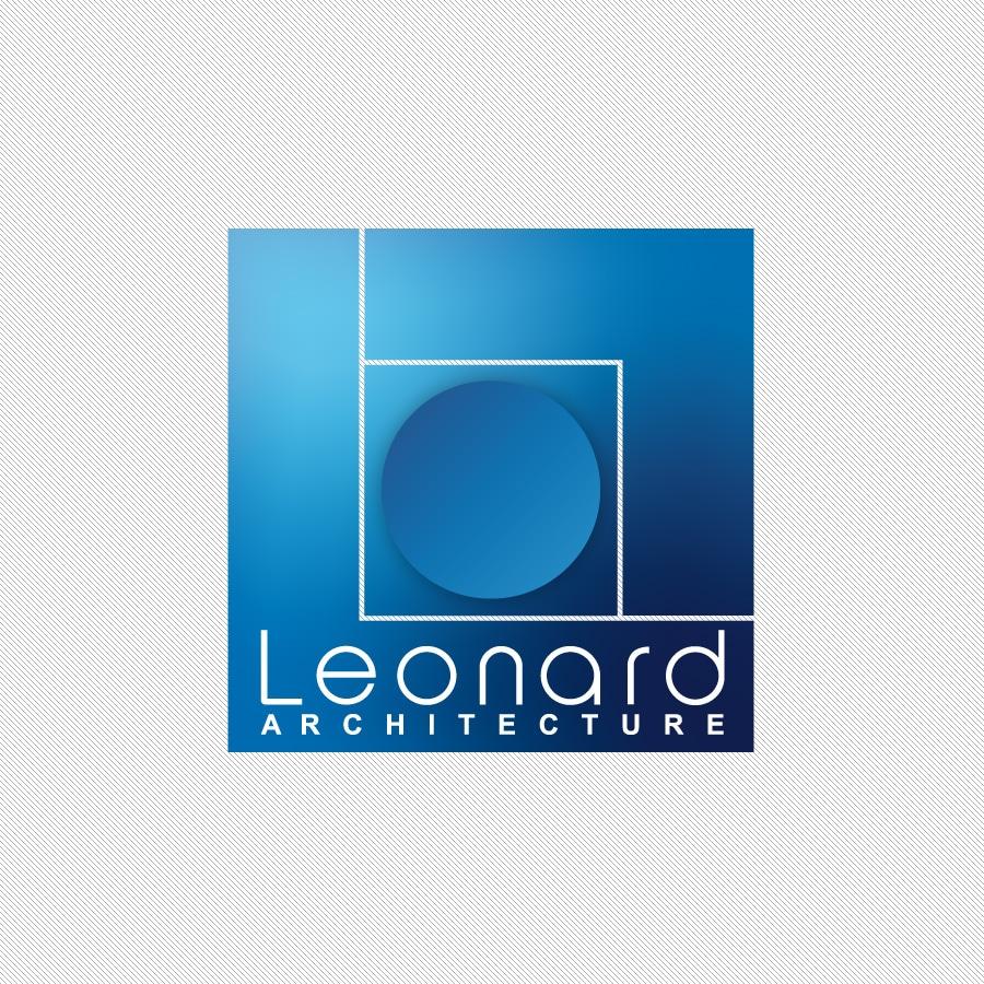Leonard Architecture - Logo et identité - DEFACTO agence de communication à Narbonne