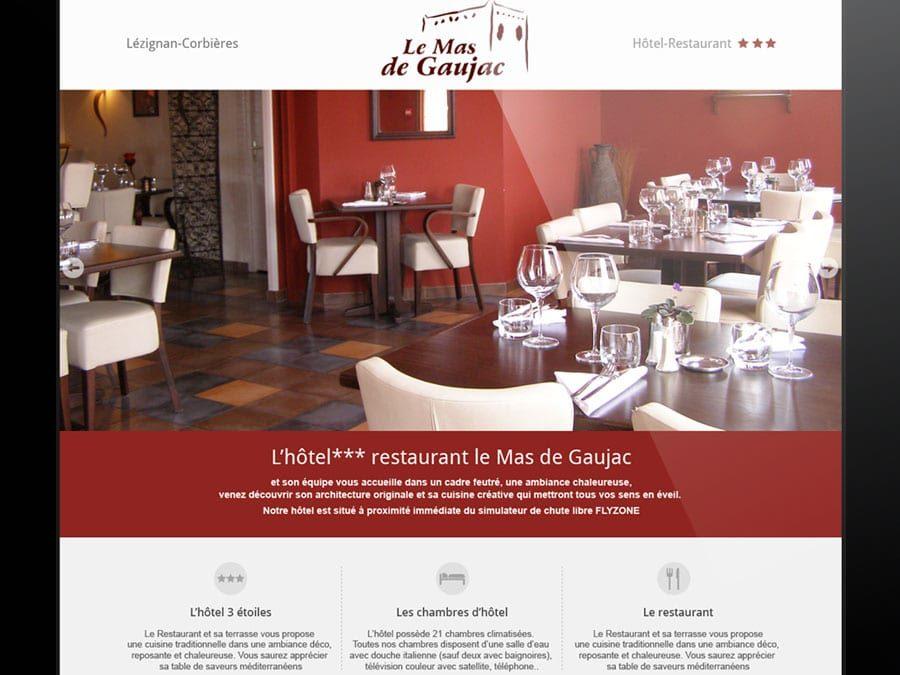 Mas de Gaujac – Site Web