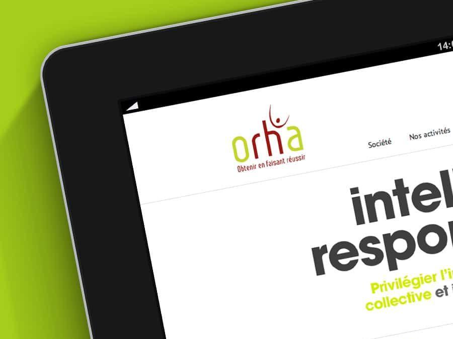 Orha – Site Web