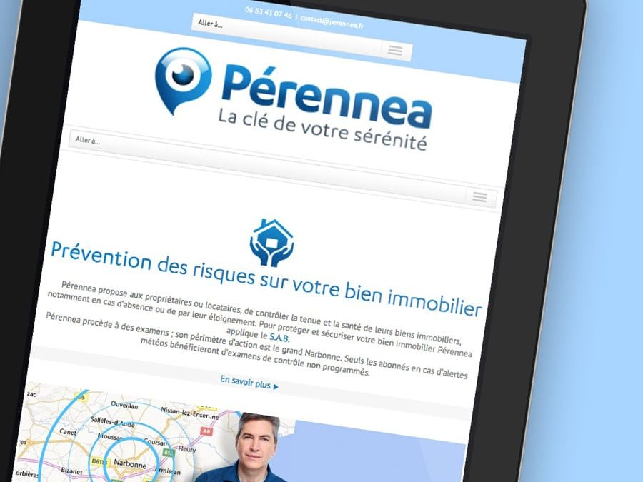 Pérennea – Site Web