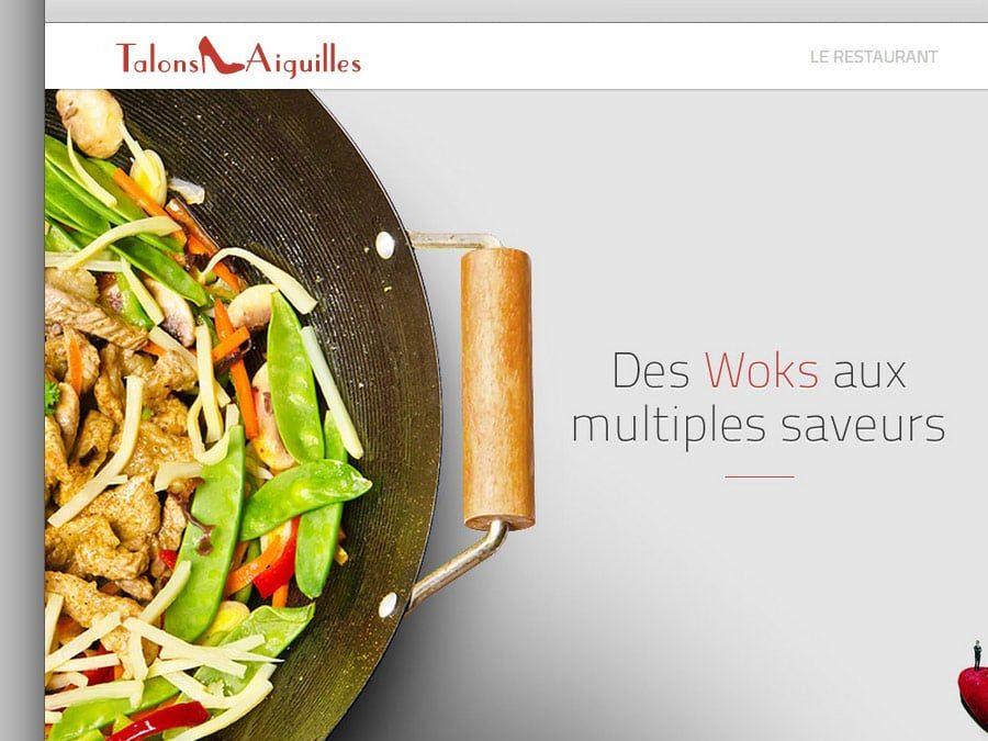 Talons Aiguilles – Site Web