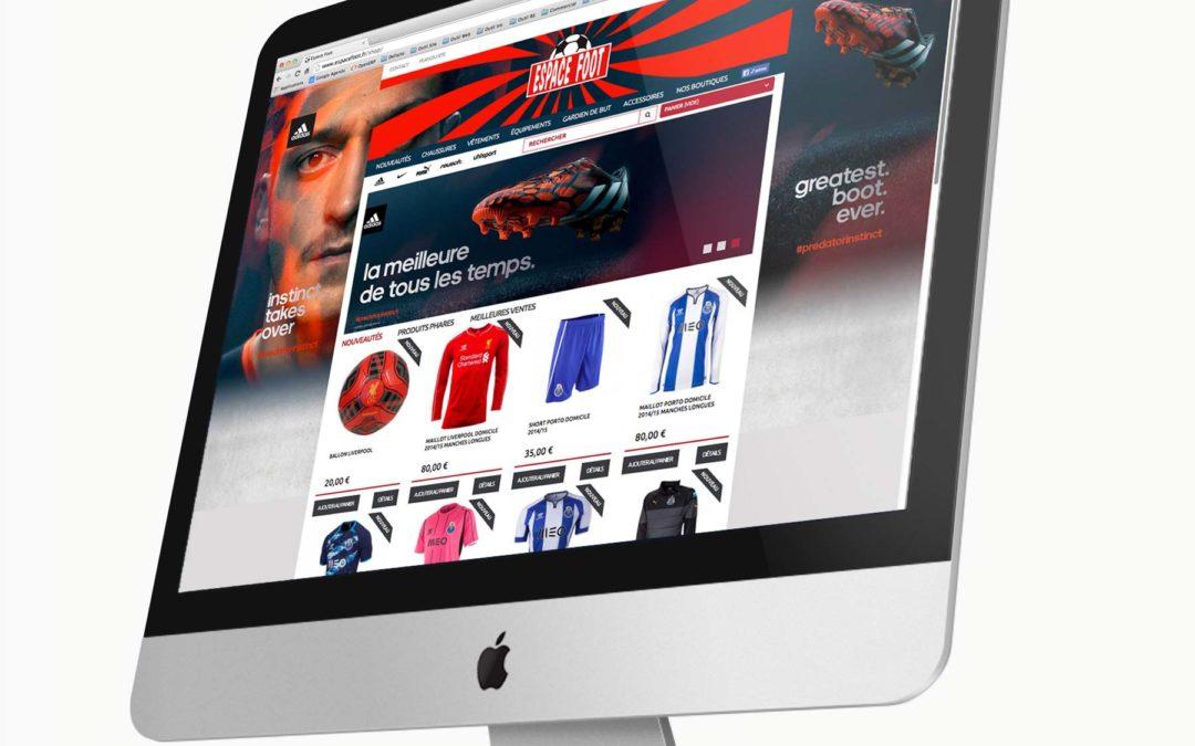 Espace Foot – Boutique en ligne