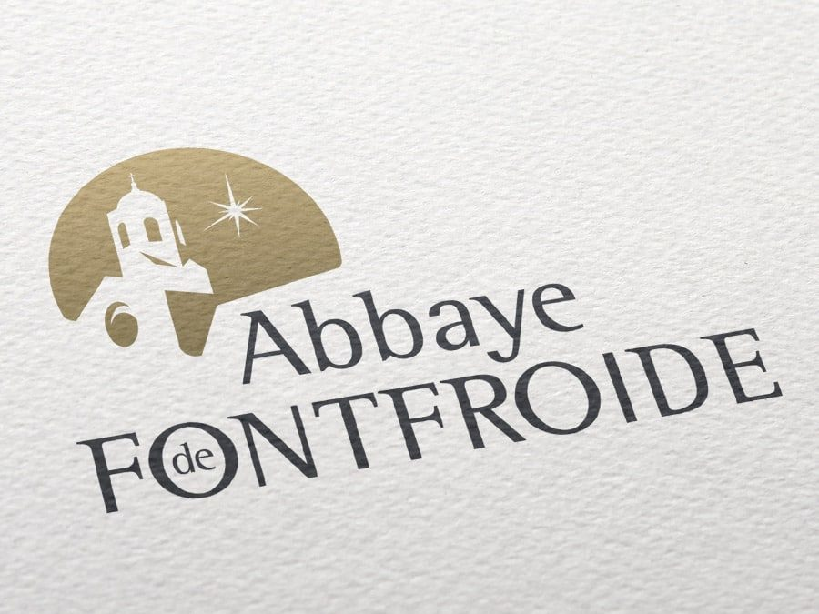 Abbaye de Fontfroide – refonte de logo