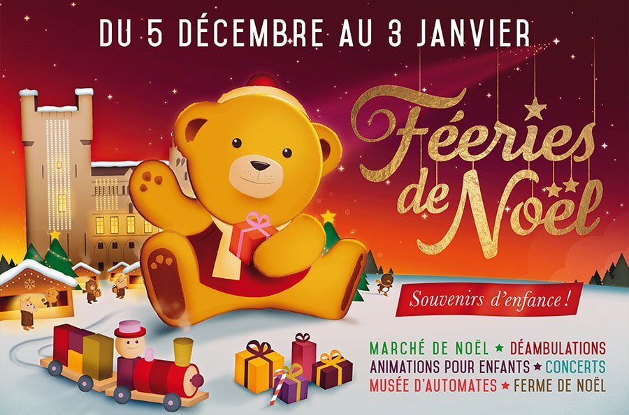 Féeries de Noël : Campagne de communication