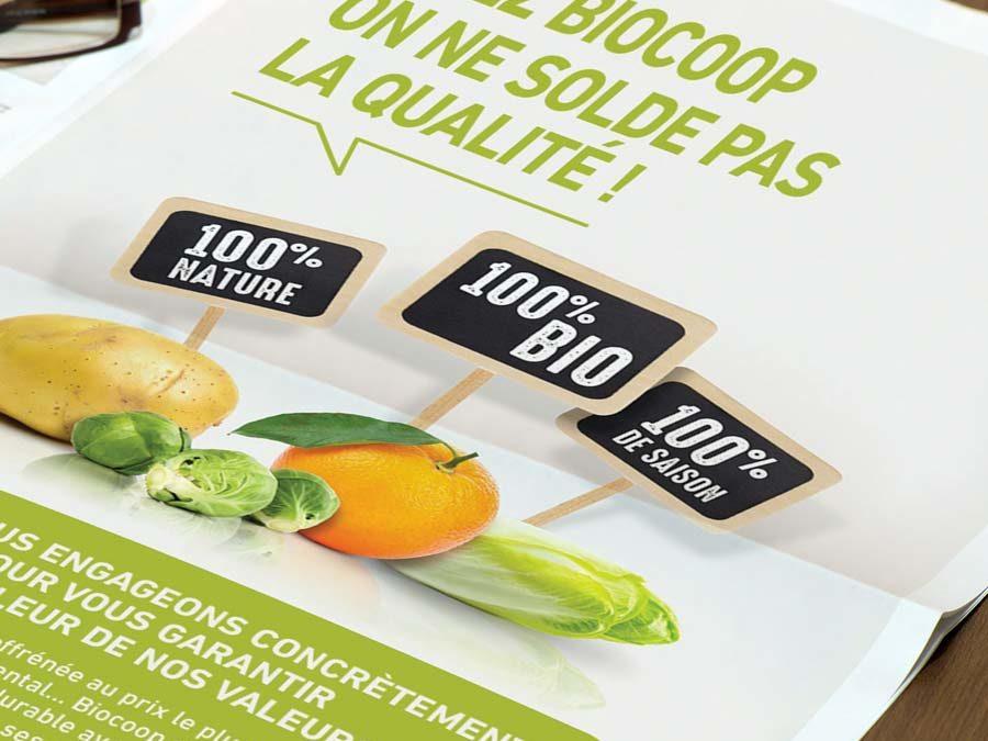 Biocoop – campagne de communication