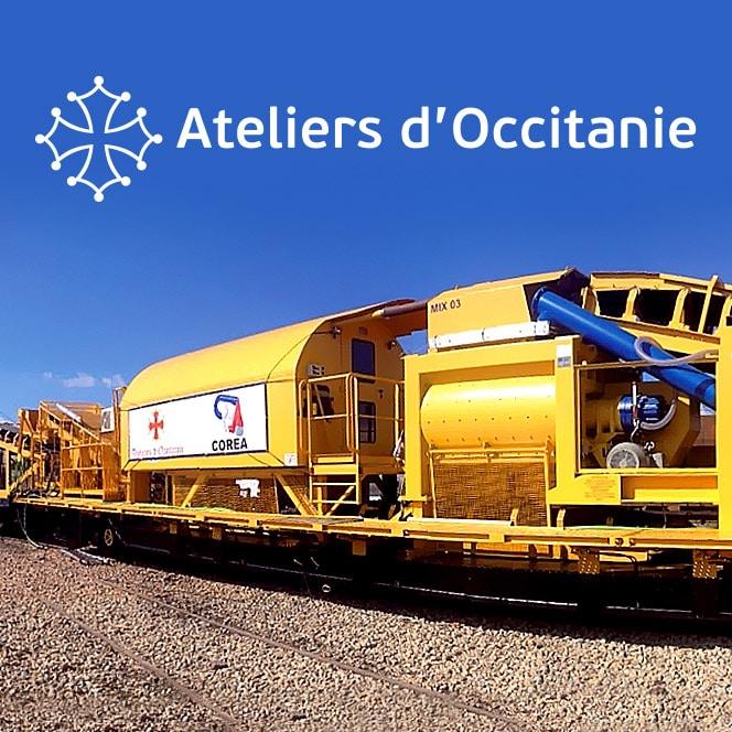 Ateliers d'Occitanie - Création du site internet - Defacto agence à Narbonne