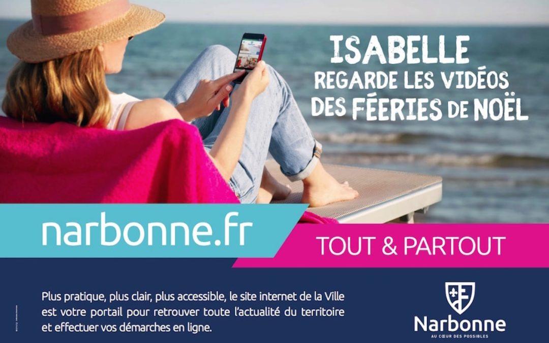 MAIRIE DE NARBONNE – CAMPAGNE D'AFFICHAGE