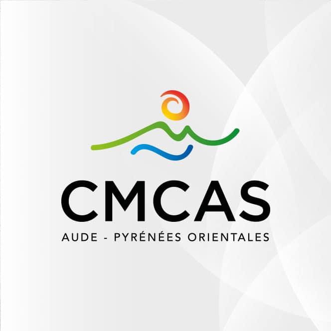 CMCAS Aude – Pyrénées-Orientales – logo, magazine, site web