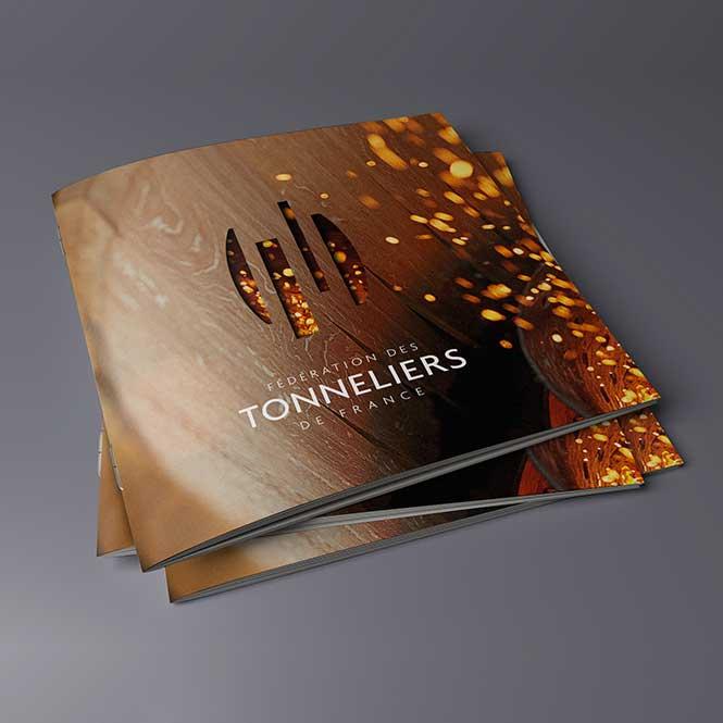 Tonneliers de France : Refonte de la plaquette