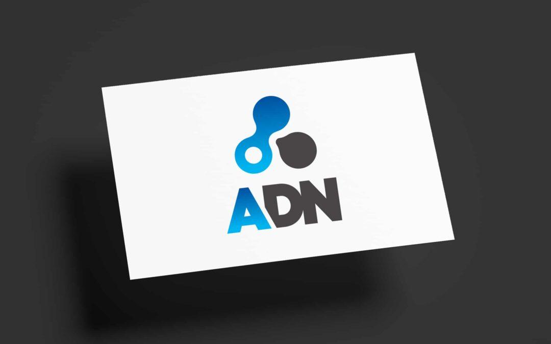 ADN – création identité et site web