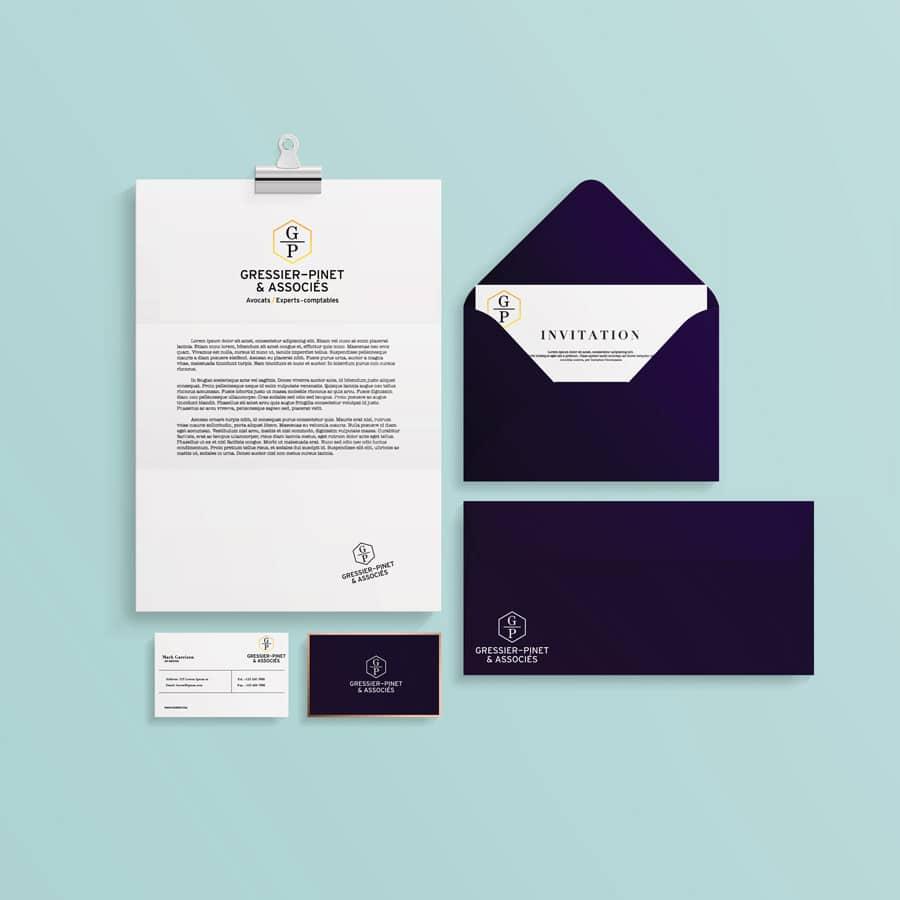 DEFACTO - Gressier-Pinet Associés branding