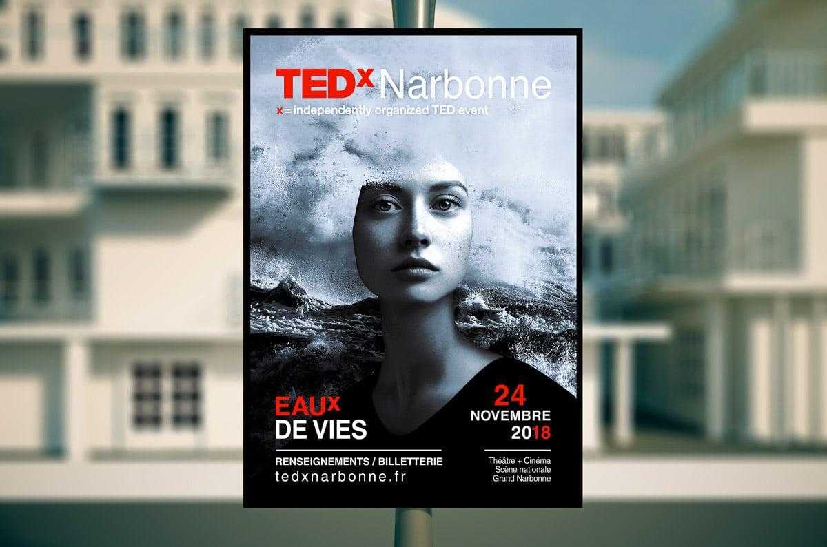 DEFACTO - TEDx affiche