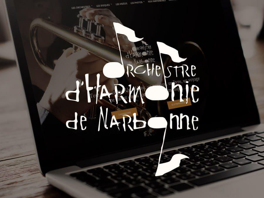 Orchestre d'Harmonie de Narbonne : refonte du site