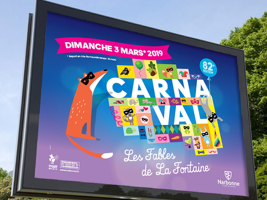 Carnaval de Narbonne 2019 – Plan de communication