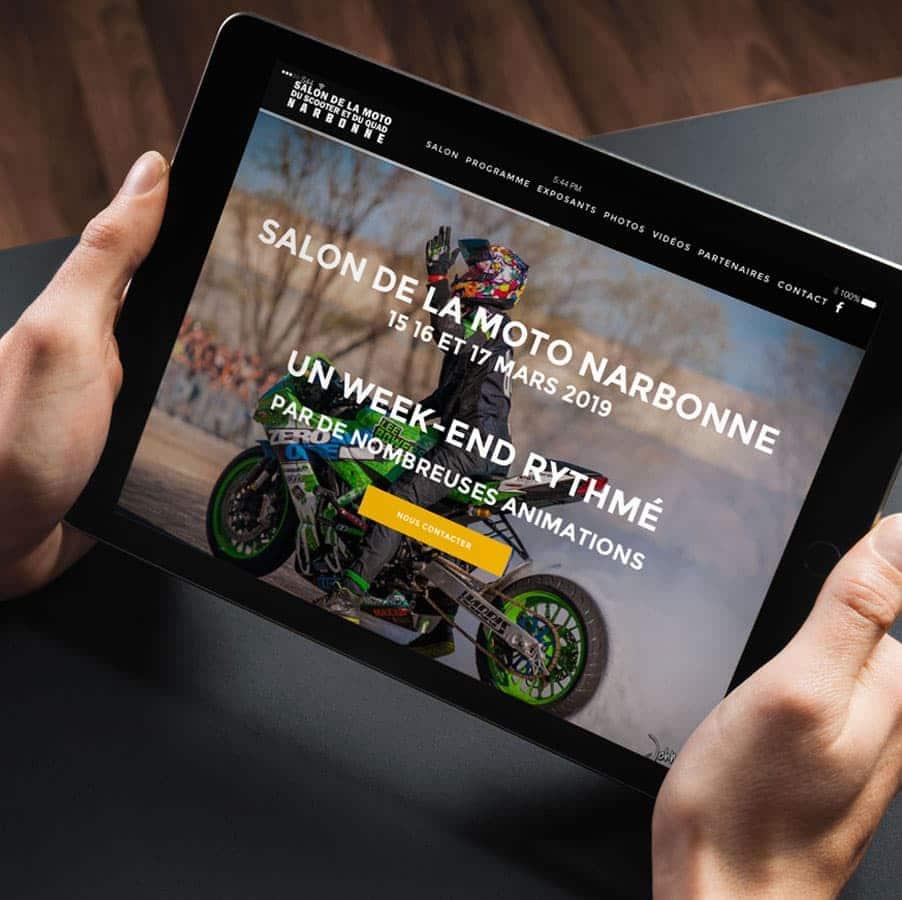 DEFACTO - Salon de la moto narbonne