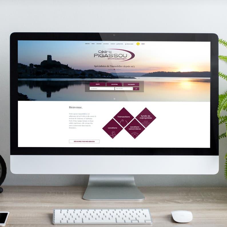 Defacto-mockup-desktop-agence immobilière Pigassou-
