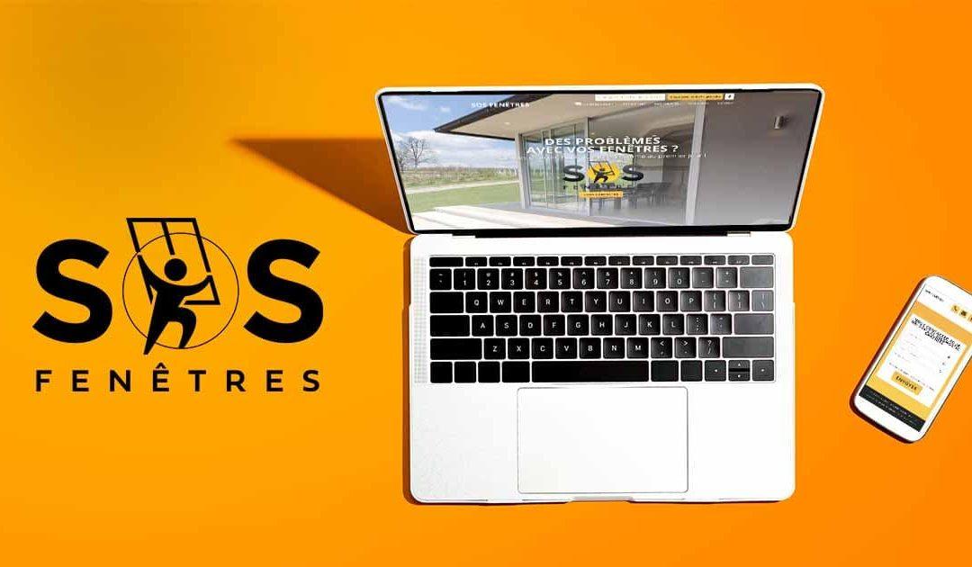 Un site Internet 100% «réparation de fenêtres»