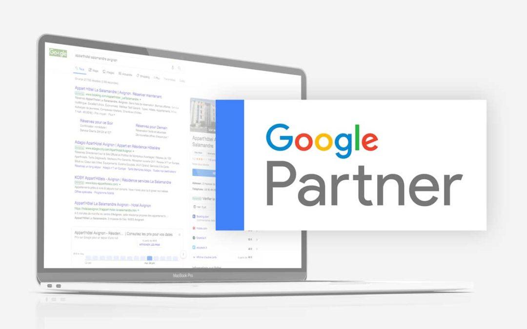 Defacto toujours Google Partner