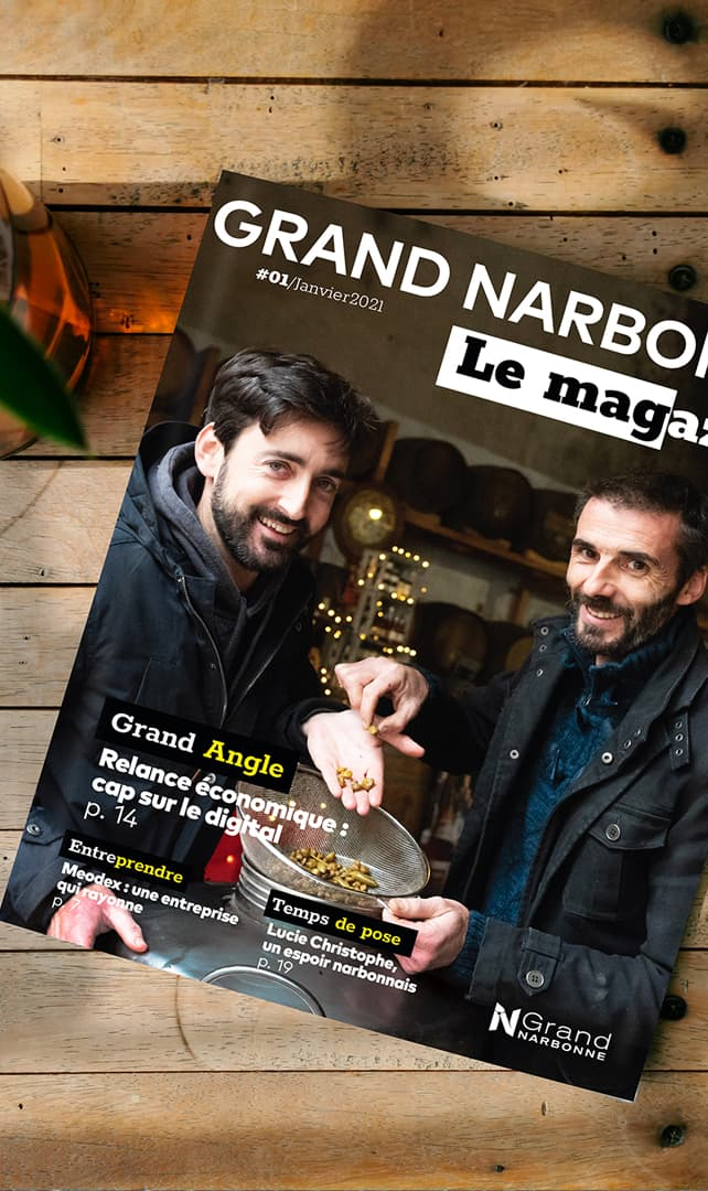 Defacto - Projet GRAND NARBONNE LE MAG
